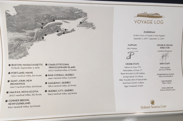 Voyage Planner for Holland America Line