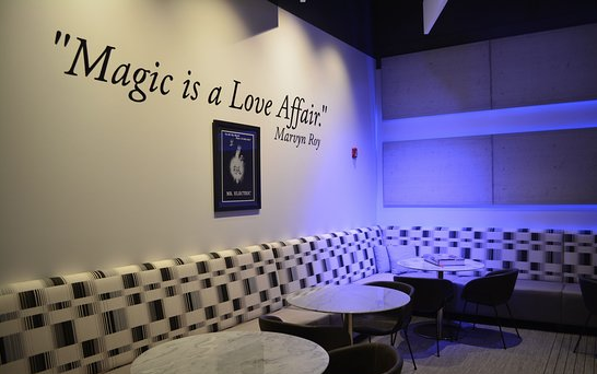 view of the inside of Marvyns Magic Theatre